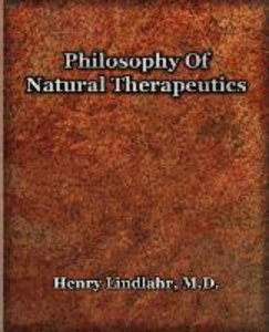 Philosophy Of Natural Therapeutics (1919)