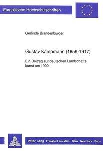 Gustav Kampmann (1859-1917)