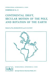 Continental Drift, Secular Motion of the Pole, and Rotation of t