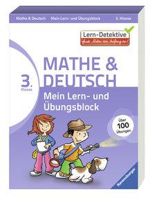 Lern-Detektive: Mein Lern- und Übungsblock (3. Klasse). Mathe un