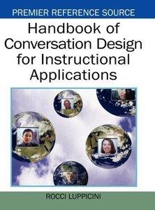 Handbook of Conversation Design for Instructional Applications