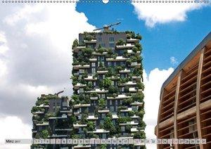 Neue Architektur in Mailand (Wandkalender 2017 DIN A2 quer)