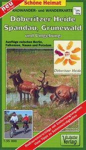 Döberitzer Heide / Spandau, Grunewald und Umgebung 1 : 35 000.