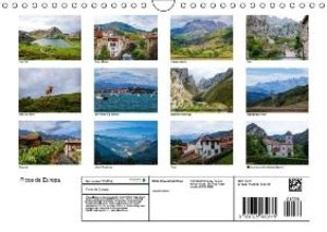 Picos de Europa - In and around the national park (Wall Calendar