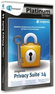 Avanquest Steganos Privacy Suite 14 - Platinum Edition