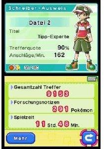 Lernen mit Pokémon: Tasten-Abenteuer. Nintendo-Ds