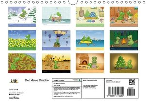 Der kleine Drache (Wandkalender 2016 DIN A4 quer)