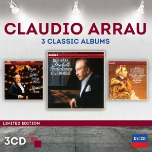 Claudio Arrau-3 Classic Albums (Ltd.Edt.)