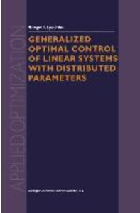 Generalized Optimal Control of Linear Systems with Distributed P