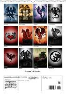 Dragons / UK-Version (Wall Calendar 2015 DIN A3 Portrait)