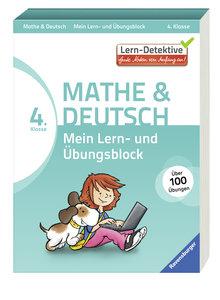 Mein Lern- und Übungsblock (4. Klasse) Mathe und Deutsch