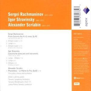 Lubimov, A: Klavierkonzert 4/Prometheus/Concerto