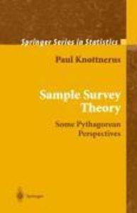 Sample Survey Theory