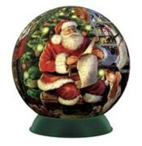 Jumbo Spiele 11010 - Christmas, Puzzleball, 240 Teile
