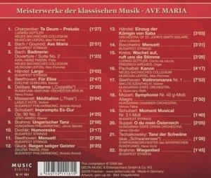 Ave Maria-Meisterwerke der klassischen Musik