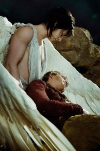 Der Engel mit den dunklen Flue