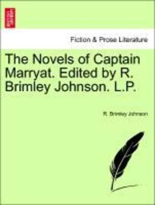 The Novels of Captain Marryat. Edited by R. Brimley Johnson. L.P