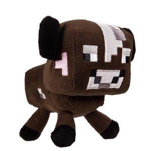 Minecraft 16538 - Stofftier Braune Kuh (Plüsch), ca. 18 cm