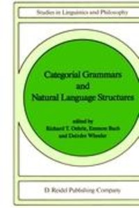 Categorial Grammars and Natural Language Structures