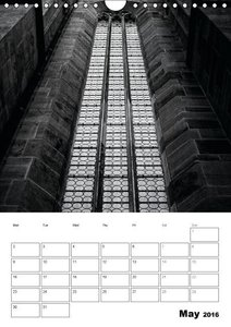 City Noir Collection (Wall Calendar 2016 DIN A4 Portrait)
