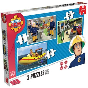 Fireman Sam Trio Puzzle