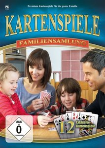 Kartenspiele - Familiensammlung (12 exklusive Klassiker in einer