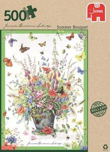 Jumbo Spiele 18349 - Summer Bouquet, 500 Teile