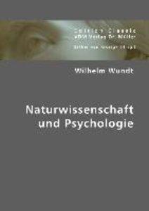 Naturwissenschaft und Psychologie