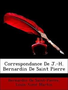 Correspondance De J.-H. Bernardin De Saint Pierre