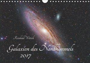 Galaxien des Nordhimmels (Wandkalender 2017 DIN A4 quer)