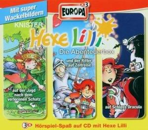 Hexe Lilli Box 01. Abenteuerbox 1. 3 CDs