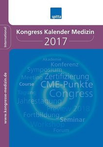 Kongress Kalender Medizin 2017