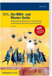 Der MBA- und Master-Guide 2015