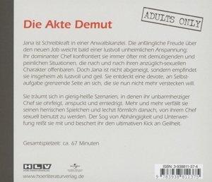 In Dub!o proreo-Akte Demut