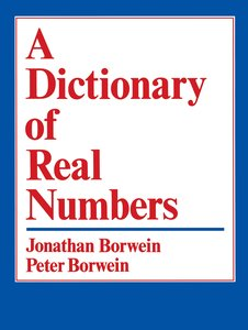 A Dictionary of Real Numbers