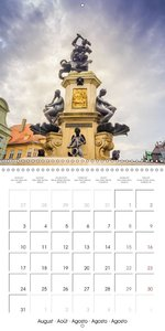 Augsburg City of water (Wall Calendar 2015 300 &times 300 mm Squ