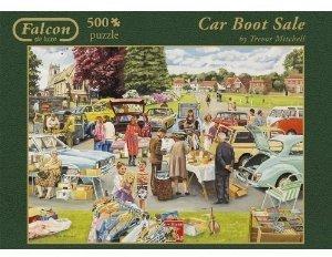 Jumbo Spiele 11004 - Car Boot Sale, 500 Teile Puzzle