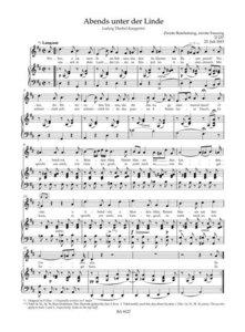 Lieder für Singstimme und Klavier, Band 7