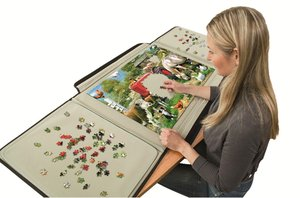 Jumbo 10715 - Puzzle Mates, Portapuzzle Standard, 1000 Teile