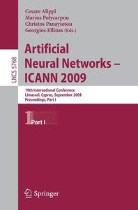 Artificial Neural Networks - ICANN 2009