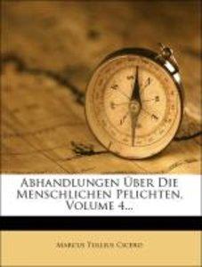 Philosophische Anmerkungen und Abhandlungen zu Cicero's Büchern