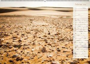 Nordafrika: Die Wüste lebt (Wandkalender 2016 DIN A2 quer)