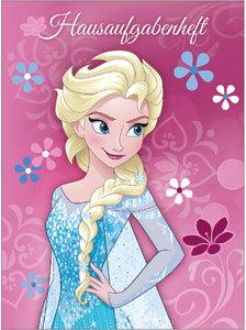 Disney Frozen Die Eiskönigin Hausaufgabenheft A5