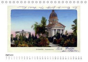 CALVENDO: Grüße aus Chemnitz (Tischkalender 2015 DIN A5 quer