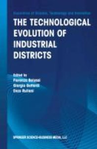 The Technological Evolution of Industrial Districts