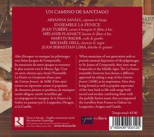 Un Camino De Santiago-Musik Des 17.Jh.Für Den Pi