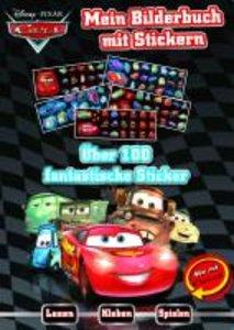Disney: Cars Bilderbuch Sticker Boxset
