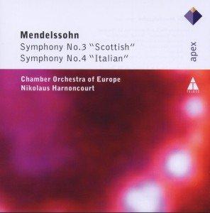 """Sinfonie 3""""Scottish"""" & 4""""Italien"""""""