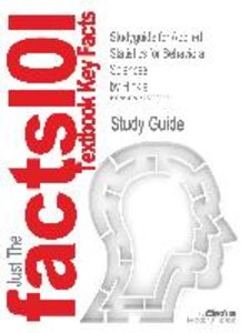 Studyguide for Applied Statistics for Behavioral Sciences by Hin