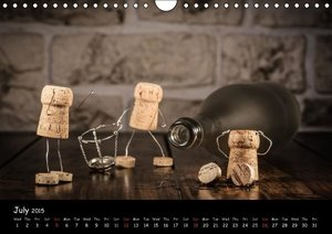 Crazy Corks - Adventures in Corkland (Wall Calendar 2015 DIN A4